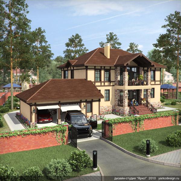 сосновый дом коттеджный поселок
