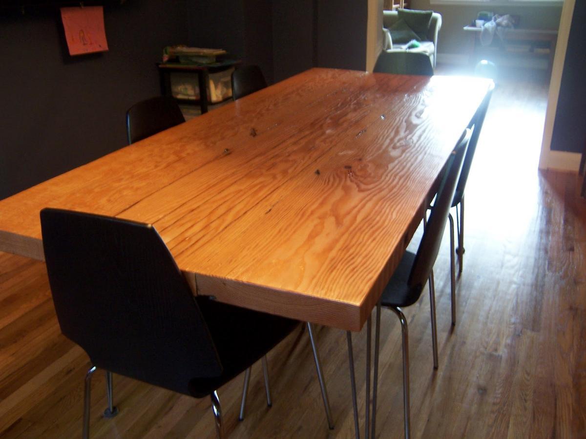 Большой обеденный стол своими руками