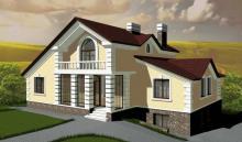 Проект загородного жилого дома в Ижевске