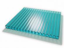 Зелёный сотовый поликарбонат: преимущественные особенности материала