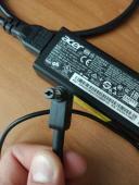 Как правильно заряжать ноутбук Acer?
