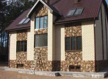 Фасадные панели под кирпич и камень