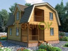 """Строительство деревянных и брусовых домов компанией """"Теремок"""""""