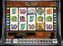 Автомат Колумбус в казино Вулкан