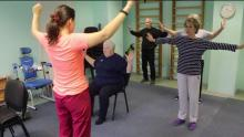 Комплекс упражнений при артрозе плечевого сустава