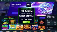 Инновационное казино Джет — лидер в мире азарта