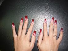 Наращивание и дизайн ногтей Ксении Стрелковой