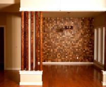 Вторая жизнь дерева. Деревянная плитка для декора стен.
