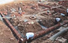 Строительство бюджетного дома. Фотоотчет