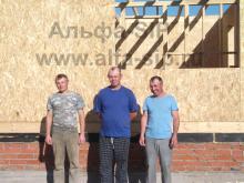 Бригада из трех человек собирает коробку дома за две недели! (Удмуртская Республика, г. Ижевск)