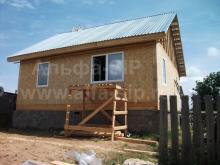 Завершено строительство дома в п. Факел (Удмуртская Республика)