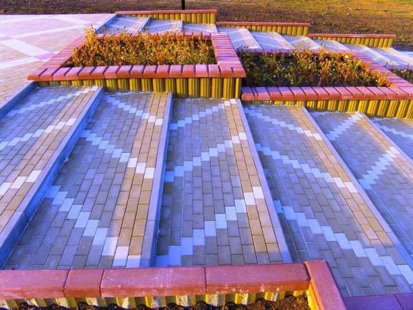 Брусчатка, тротуарная плитка в Ижевске