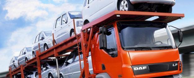 Транспортировка автомобилей автовозами на дальние расстояния