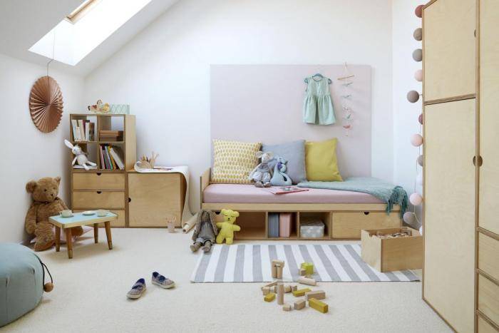 Обустройство детской комнаты безопасными предметами интерьера