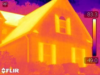 Тепловизионная съемка квартир и коттеджей в Ижевске и по Удмуртии