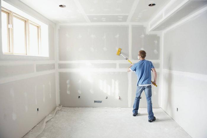 Как подготовить стены и потолок перед покраской