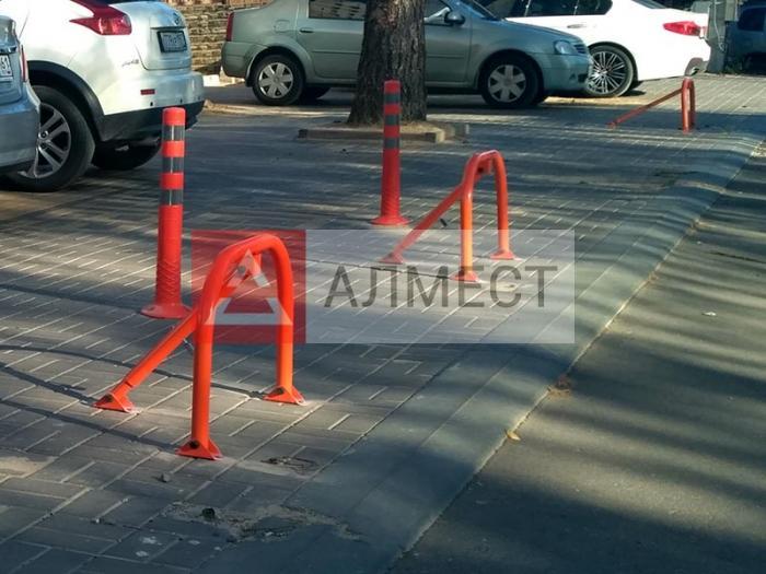Парковочные блокираторы - ограждения и ограничители парковки