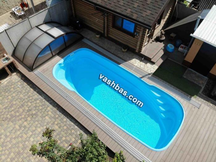 Готовые для строительства чаши бассейнов в интернет-магазине vashbas.com