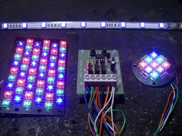 Характеристические особенности светодиодного освещения