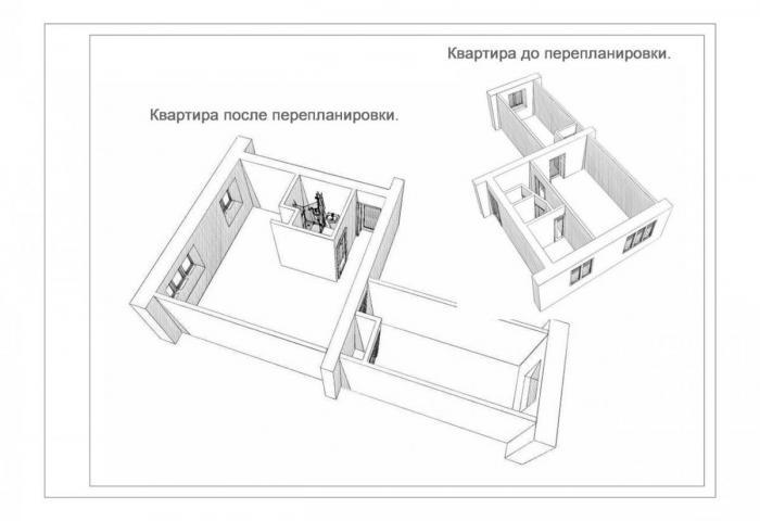 Перепланировка квартиры в Ижевске, согласование перепланировки
