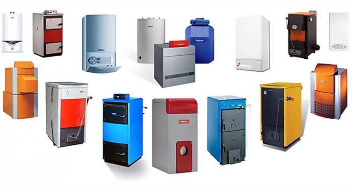 Разновидности газовых котлов отопления