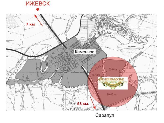 Коттеджный поселок «Зеленодолье». 7 км от Ижевска по Сарапульскому тракту