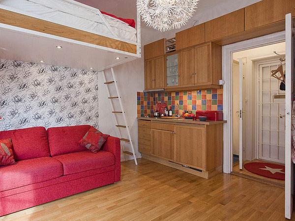 Ремонт маленьких однокомнатных квартир фото