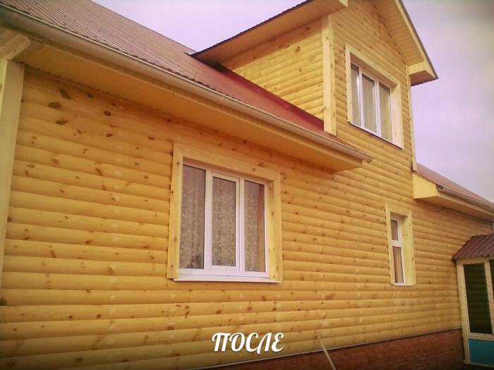 Строительство домов и ремонт квартир. Обшивка блок-хаусом