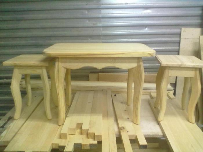 Изготовление мебели из дерева. Малая Пурга
