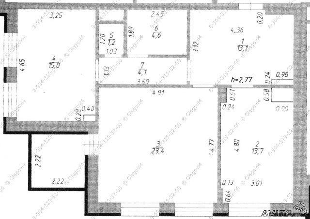 Дизайн однокомнатной квартиры 40 кв м - Идеи, Фото, Проекты