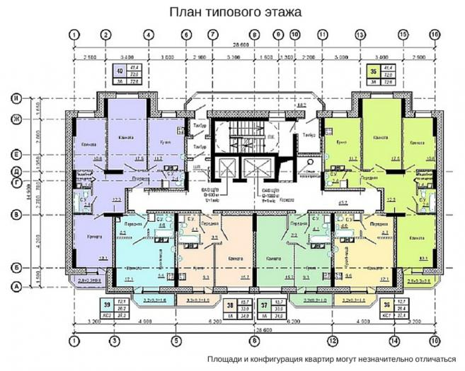 Планировки квартир ЖК Золотой век-3 в Ижевске