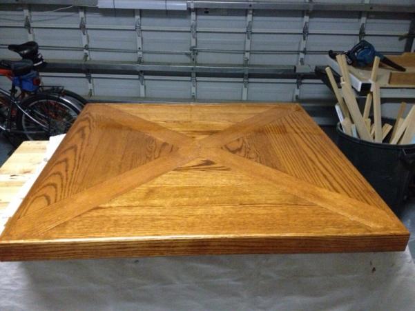 Сделать стол своими руками из дерева